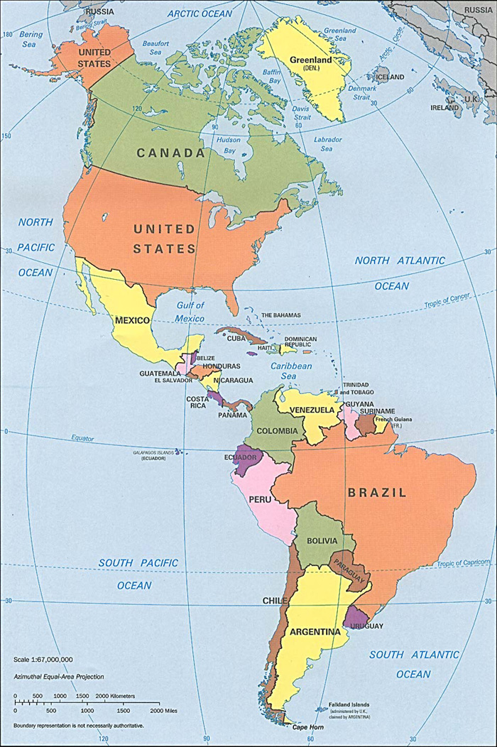 a description of brazil which occupies the entire south america continent